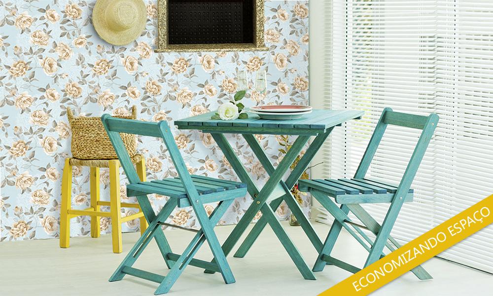 Cadeiras e Mesas dobraveis
