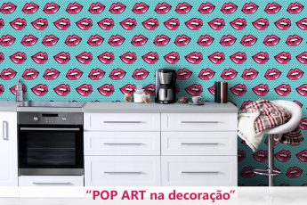 Pop art na decoraçao
