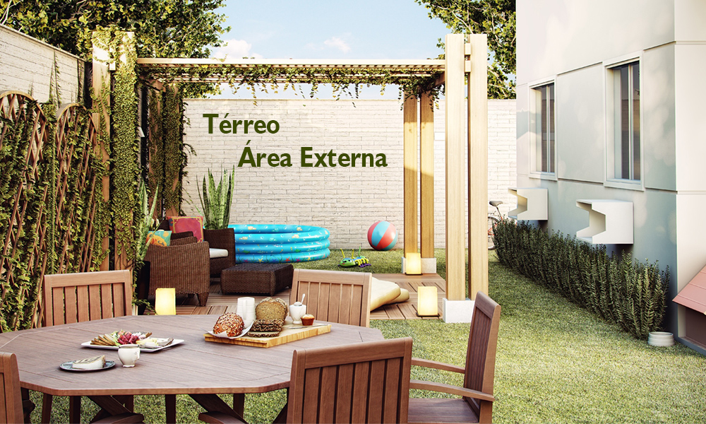 area externa do terreo