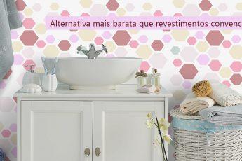 Alternativa mais barata que revestimentos convencionais