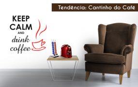 4 Dicas para decorar o cantinho do café